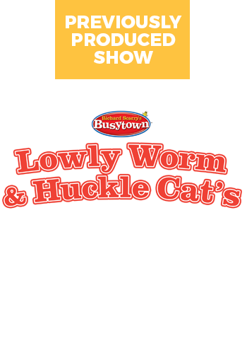 Lowly Worm and Huckle Cat: Busytown Busy
