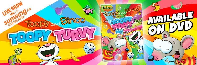 Toopy Turvy available on DVD!