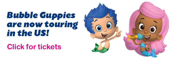 Bubble Guppies Live! in the US