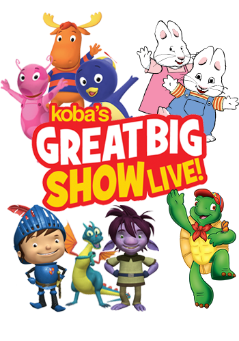 Koba's Great Big Show Live!