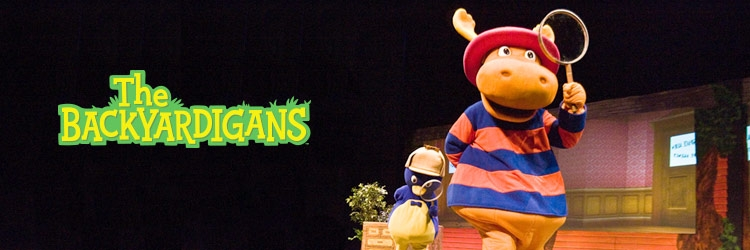 Koba's Great Big Show starring The Backyardigans.