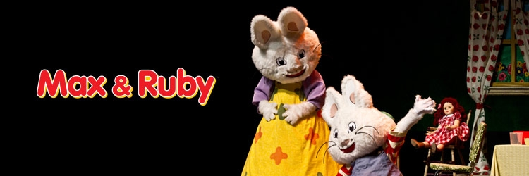 Koba's Great Big Show starring Max & Ruby.